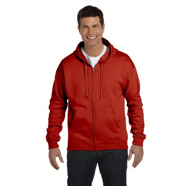 Personalized 7.8 oz. ComfortBlend (RM) EcoSmart (TM) 50/50 Full Zip Hood