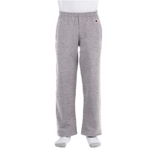 Printed Youth 9 oz., 50/50 open-bottom sweat pants