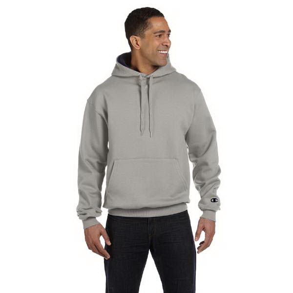 Imprinted 9.7 oz., 90/10 Cotton Max pullover hood