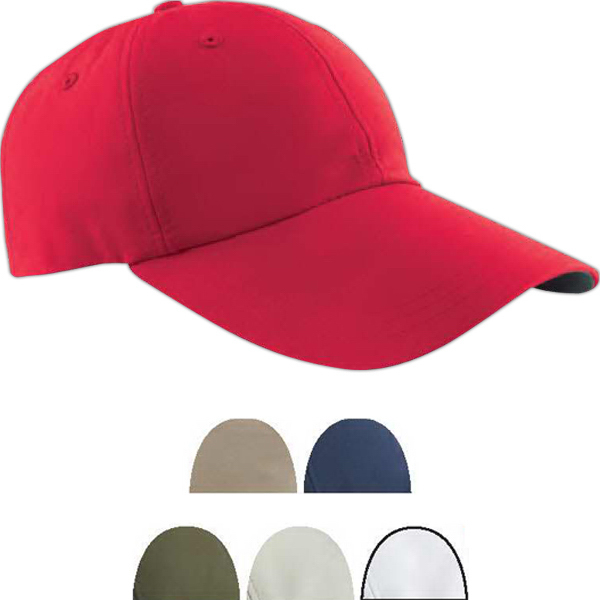Personalized Six Panel Cap with Elongated Bill