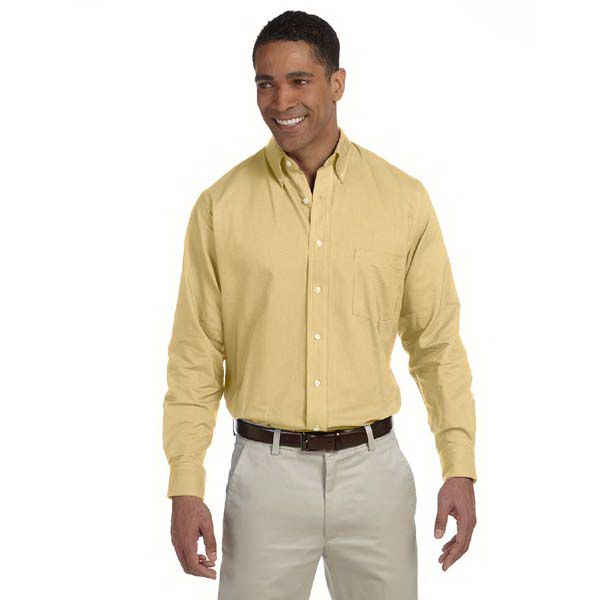 Promotional Men's Long Sleeve Wrinkle Resistant Oxford