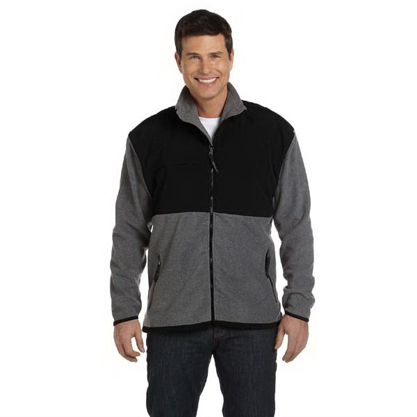 Customized Men's microfleece jacket