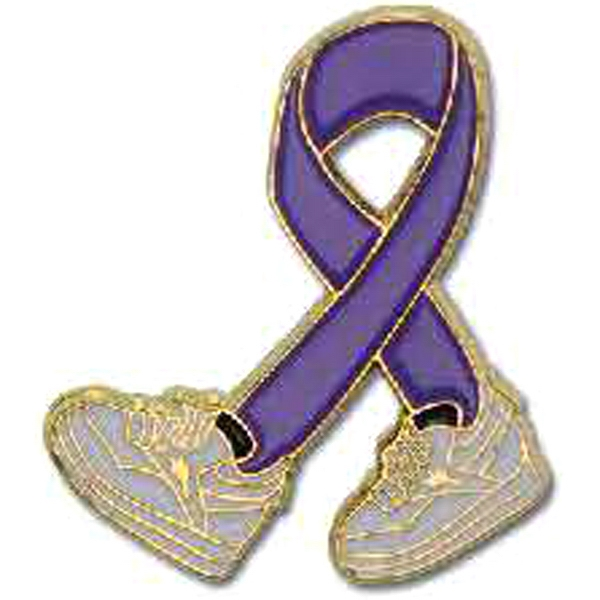 Imprinted Walkathon Lapel Pin