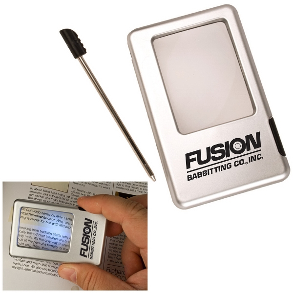 Personalized Magnifier LED with Pen