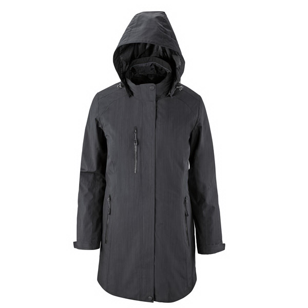 Imprinted Ladies' North End Sport (R) Lightweight City Length Jacket