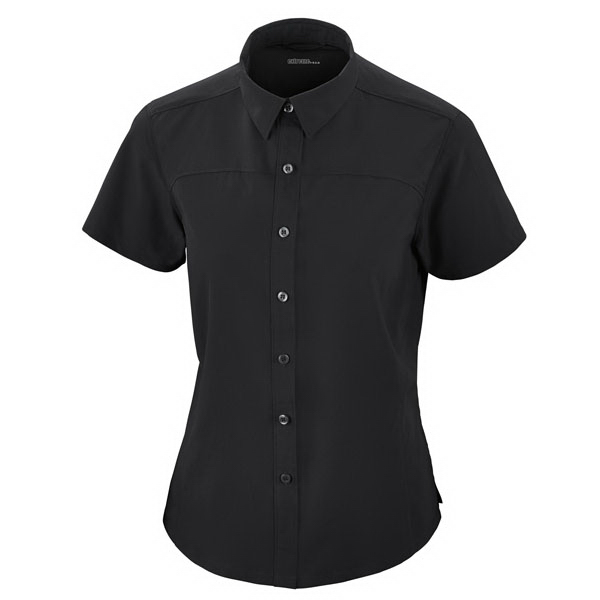 Promotional Ladies' Recycled Polyester Performance Short Sleeve Shirt
