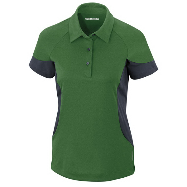 Custom Ladies' North End Sport (R) Performance Melange Jersey Polo