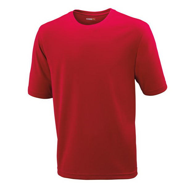 Printed Pace Core365 (TM) Men's Performance Pique Crew Neck Shirt