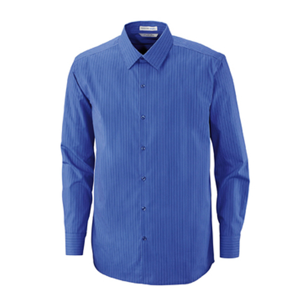 Custom Men's North End Sport (R) 80's Cotton Striped Taped Shirt