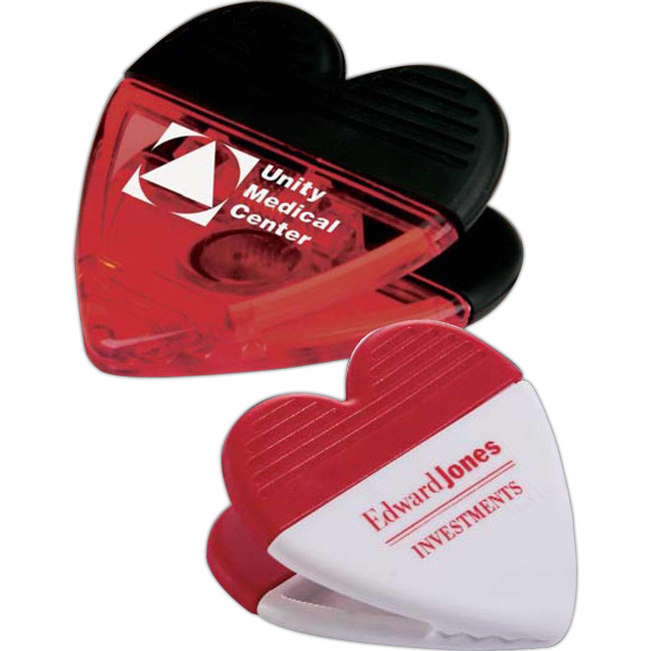 Personalized Heart Power Clip