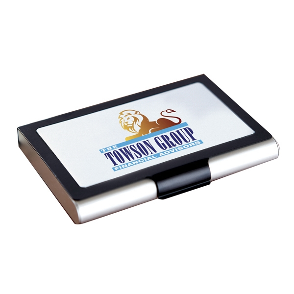 Personalized Frame Business Card Case