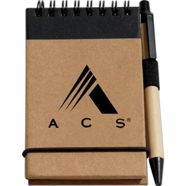 Customized Recycled Jotter Pad with Pen