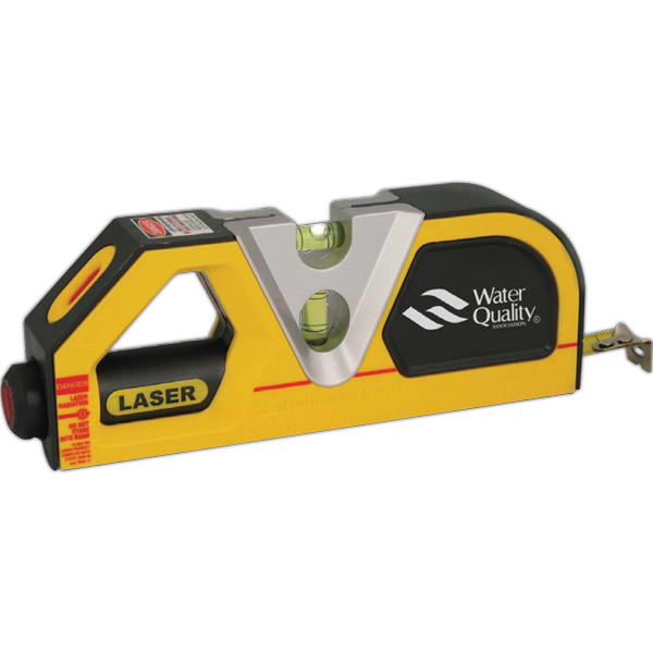 Personalized Laser Level with Tape Measure