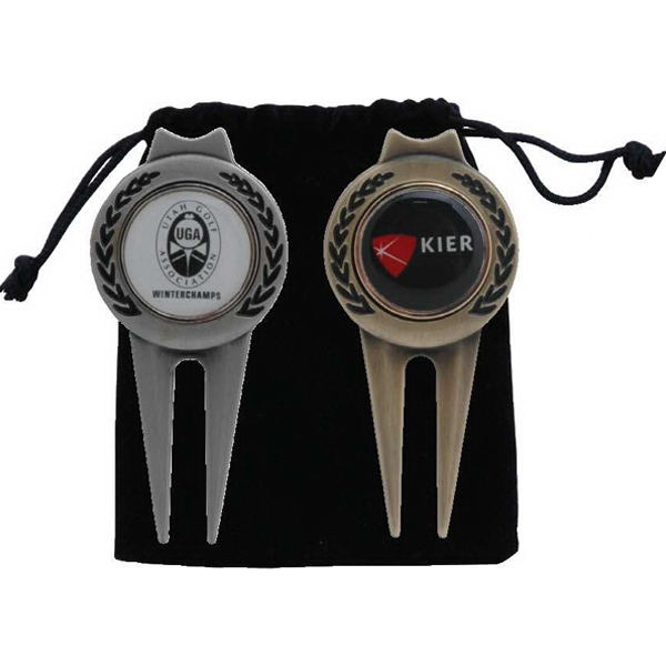 Personalized Tour Magnetic Ball Marker/Divot Tool
