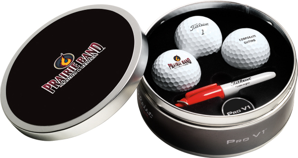 Custom Titleist ProV1x (R) Collection Tin