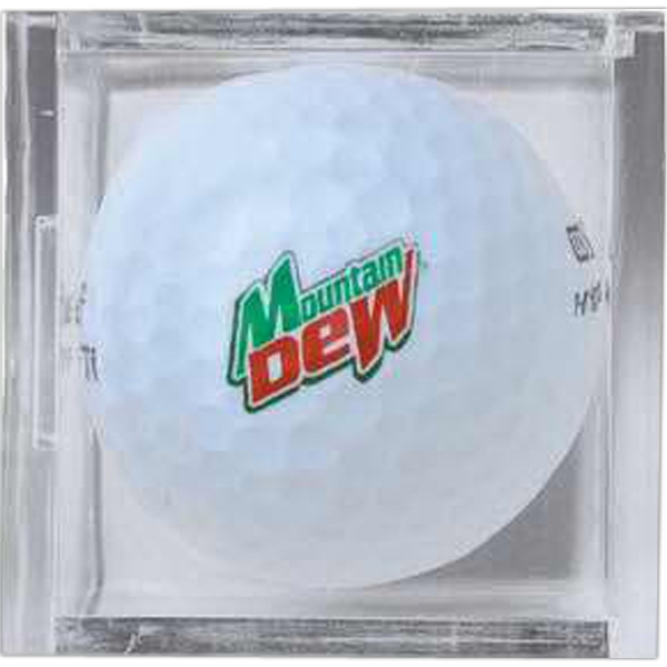 Personalized Golf Ball Cube