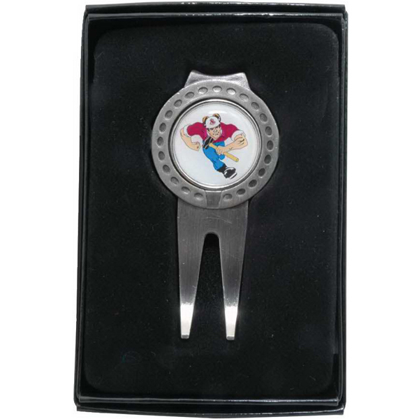 Promotional Deluxe Magnetic Ball Marker/Wedge Divot Tool