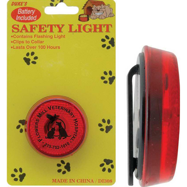 Customized Pet Collar Safety Light