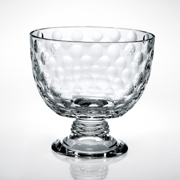 Printed Italian Crystal Bowl