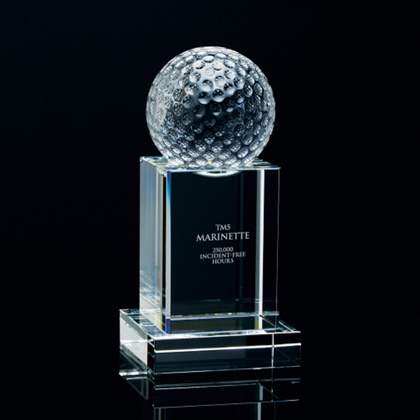 Personalized Golf Tower Award