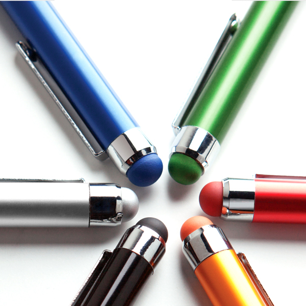 Promotional Metal Color Coordinated Stylus Pen