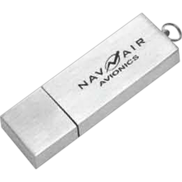 Printed Brushed Metal Case USB