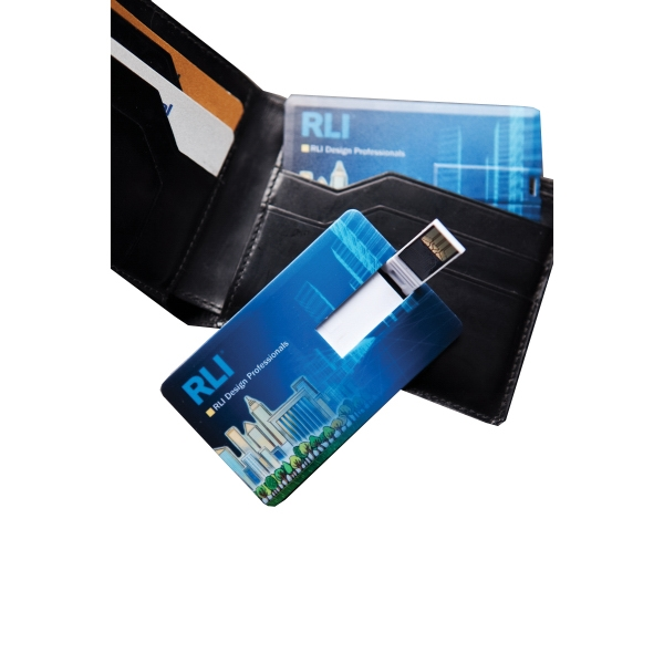 Promotional Credit Card COB Flash Drive