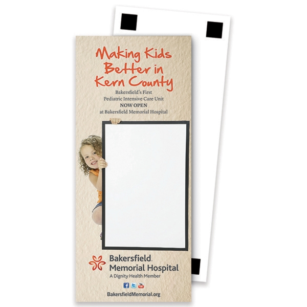 Imprinted Rectangle Shape Memo Board