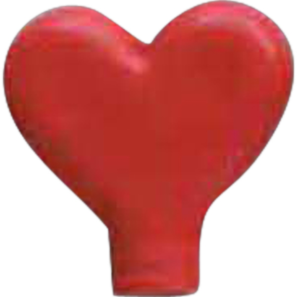 Customized Heart Pencil Top Eraser