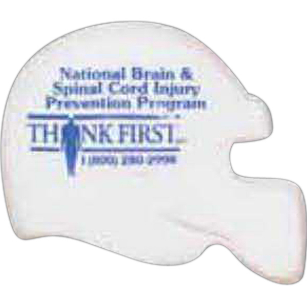 Imprinted Imprintable Helmet Pencil Top Eraser