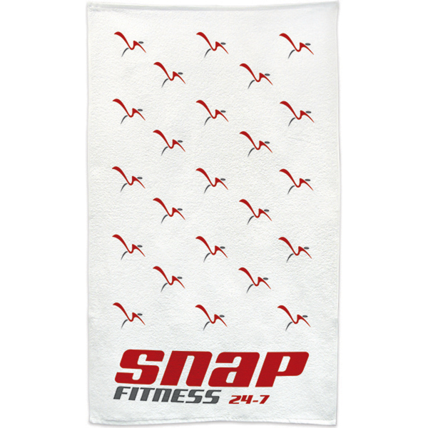 "Imprinted Sports Towel 22"" x 42"""
