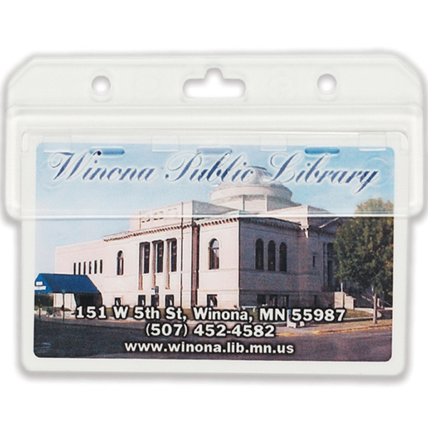 Personalized Hard Acrylic ID Holder