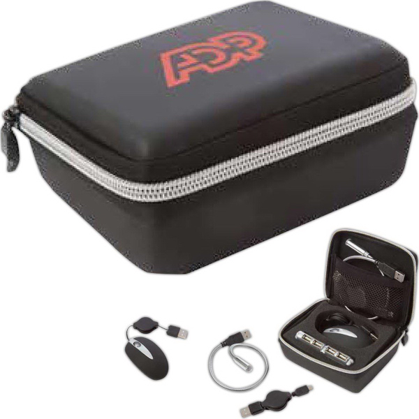 Personalized Executive Tech Travel Kit