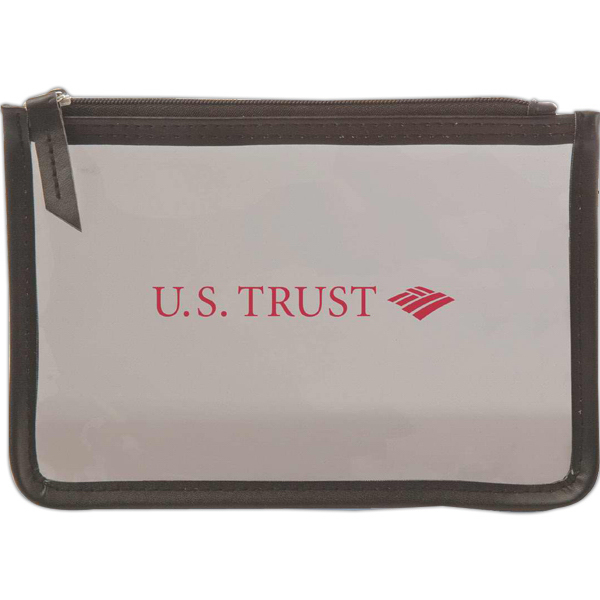 Customized Executive Slim Amenity Pouch