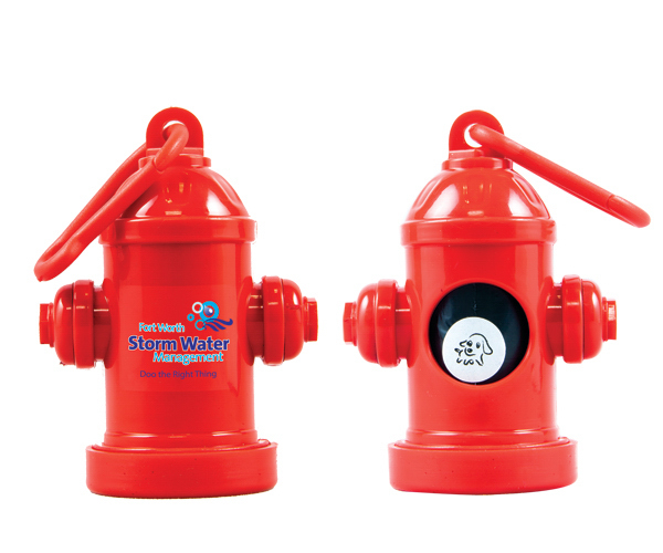 Promotional Fire Hydrant Dispenser