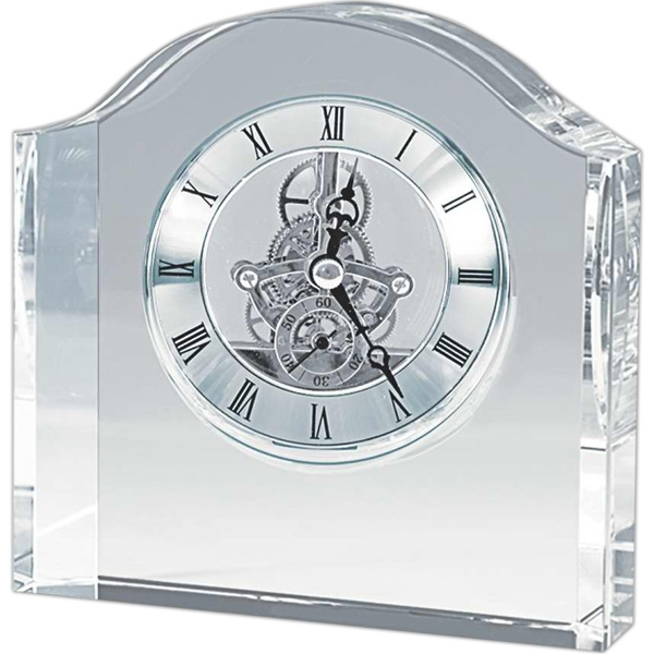 Promotional Jumbo crystal desk clock