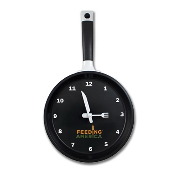 Customized Frying Pan Clock