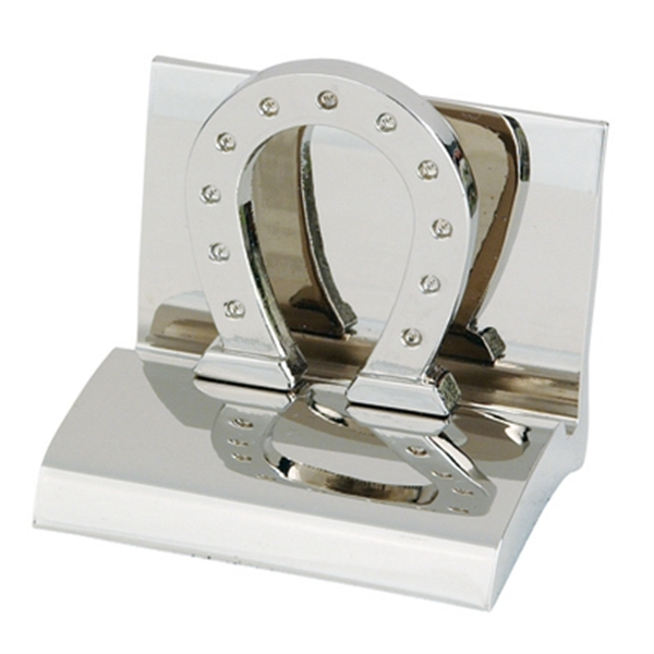 Promotional Horseshoe Business Card Holder