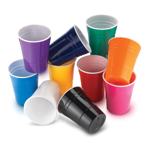 Promotional Reusable Plastic Party Cup Usimprints