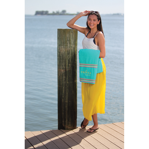 Custom SOL GEAR South Beach Collection Beach Towel