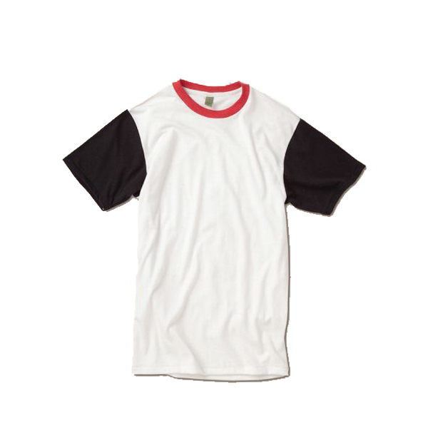 Imprinted Men's Color-Block Crew