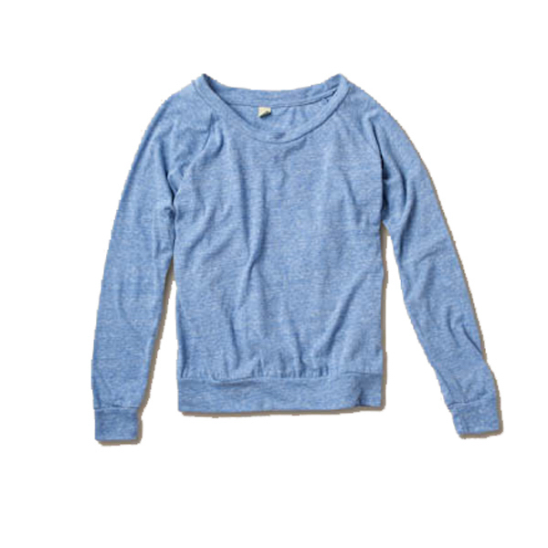 Imprinted Women Slouchy Pullover