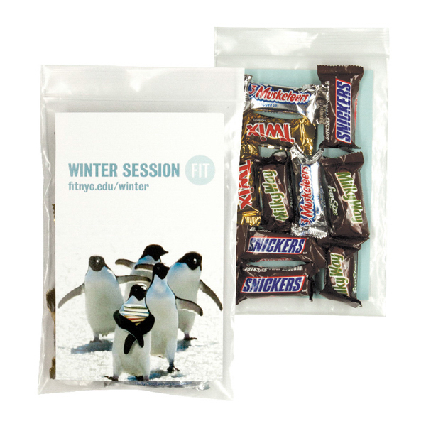 Customized 10-Pack Candy Bag with Mixed Mini Candy Bar