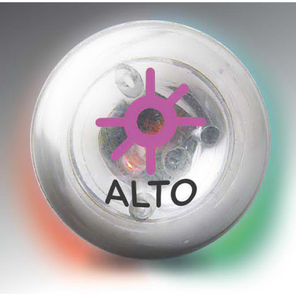 Promotional Multicolor Clear Blinking Ball