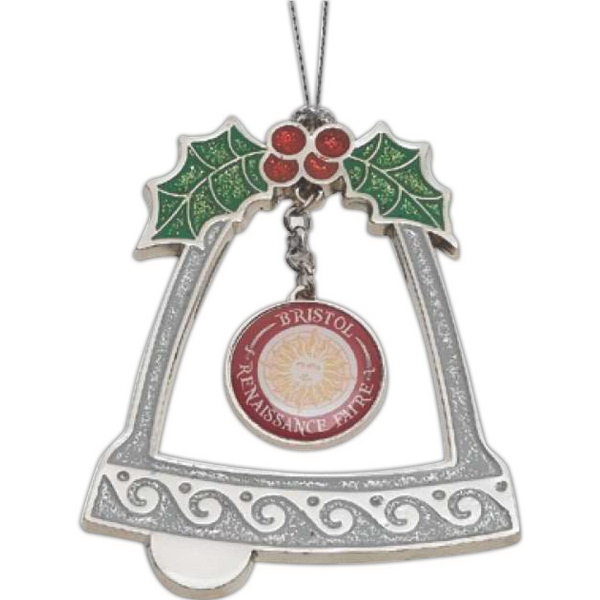 Printed Bell Ornament