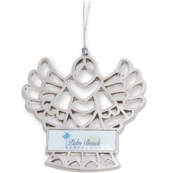 Imprinted Angel Ornament