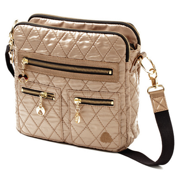 Personalized Three Square Crossbody