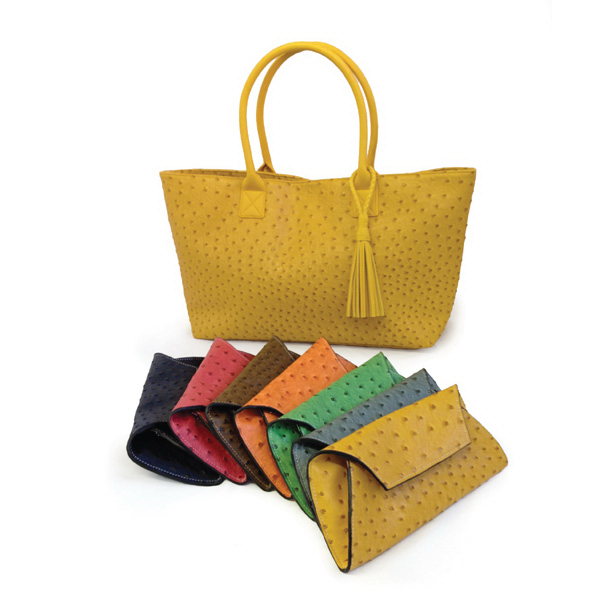 Promotional Ostrich Tassel Tote