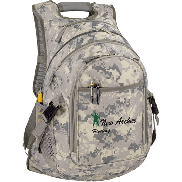 Personalized Digi Camo Computer Backpack