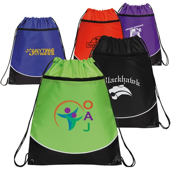 Customized Highlight Drawstring Backpack